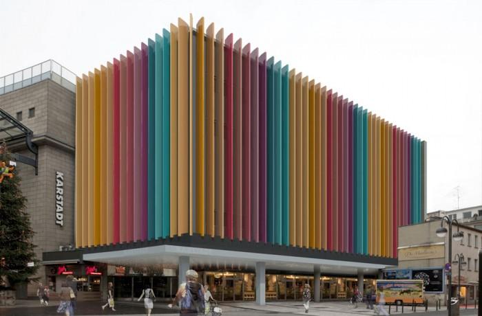 Visualisierung Fassadenentwurf