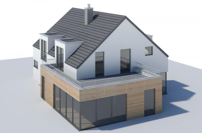 Gebäudeentwurf und Visualisierung