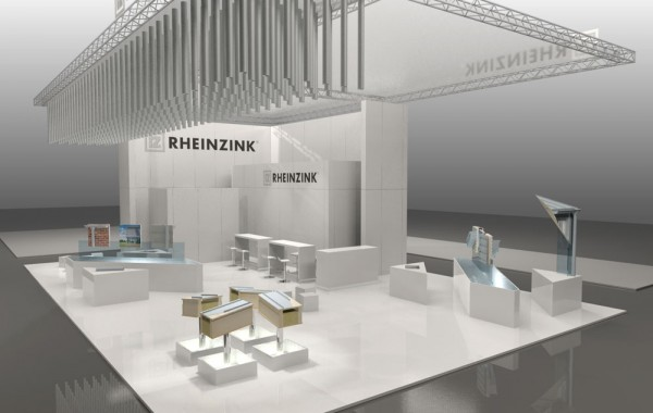 Visualisierung Messestand
