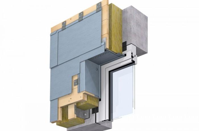 Konstruktionsdetail Fenstersturz