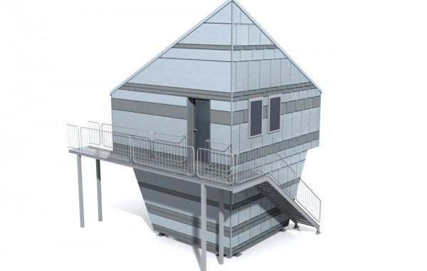 Fassadenmodell